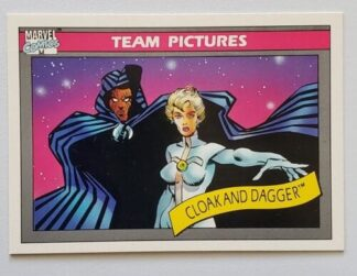 Cloak and Dagger Marvel Comic Cards 1990