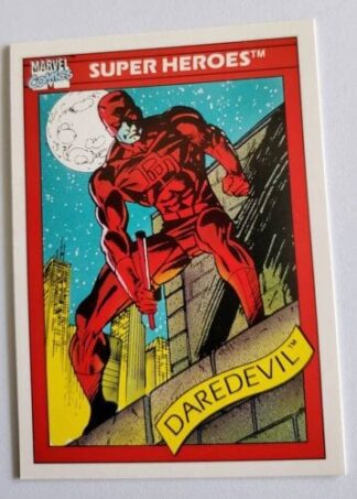 Daredevil Marvel Comics Card 1990