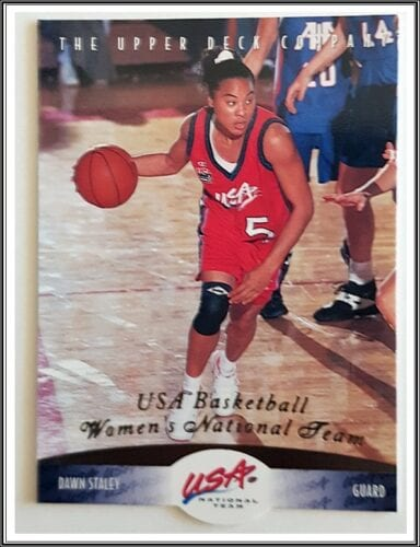 Dawn Staley Upper Deck 1996