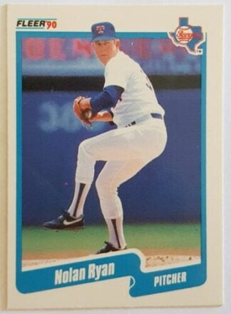 Nolan Ryan Fleer 1990