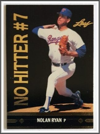 Nolan Ryan Leaf 1990