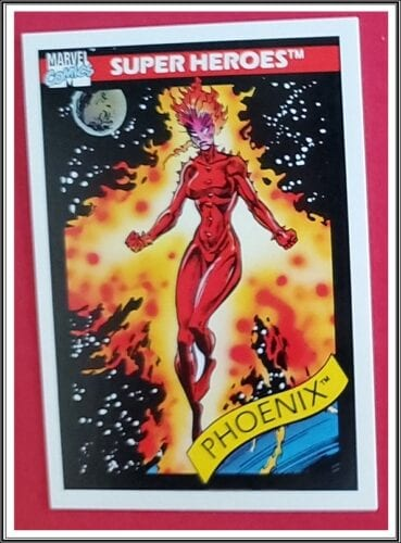 Marvel Comic Cards 1990