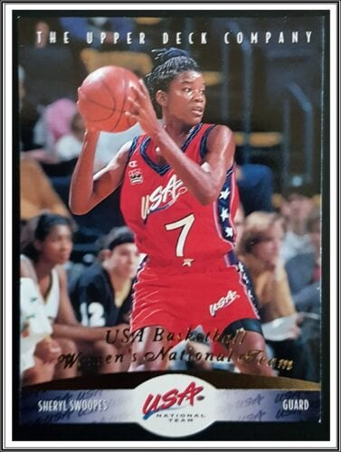 Sheryl Swoopes Upper Deck 1996
