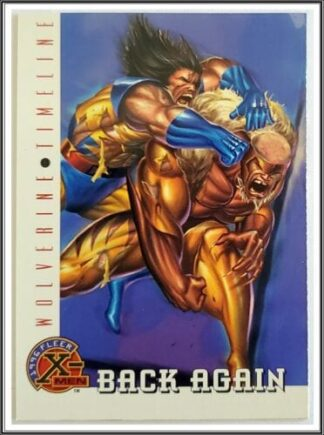 Wolverine Timeline Back Again