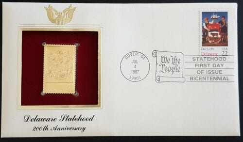 22kt Replica First Day Covers