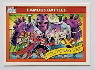 Evolutionary War Marvel 1990