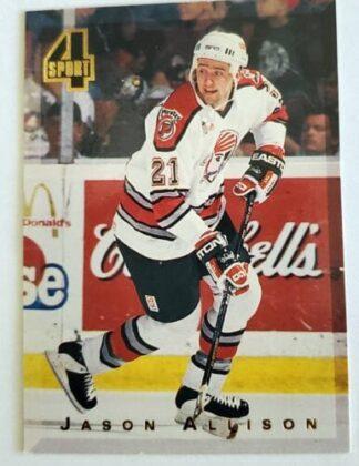 Jason Allison Classic 4 Sport 1994