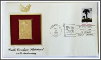 South Carolina Statehood 200th Anniversary