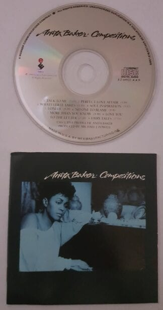 Anita Baker: Compositions Used CD