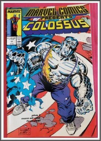 Colossus Issue #11 Marvel Comics Presents