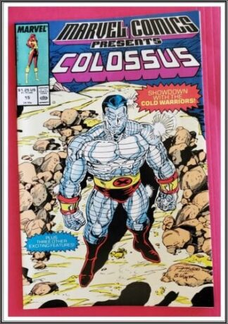 Colossus Issue #15 Marvel Comics Presents March 1989