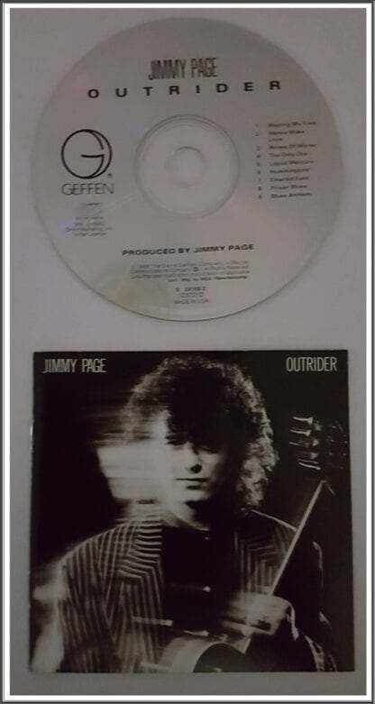 """Jimmy Page """"Outrider"""" Used CD"""