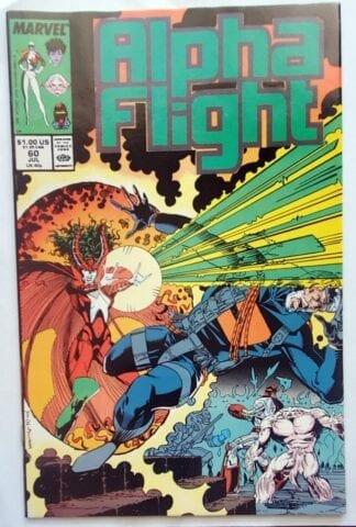 Alpha Flight Issue #60 Marvel Comics July 1988