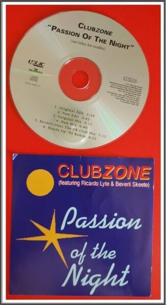 Clubzone: Passion Of The Night, Dance Singles