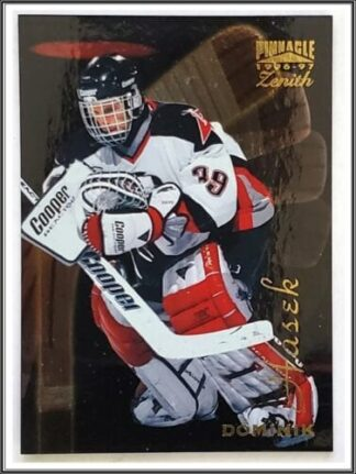 Dominik Hasek Pinnacle Zenith 1997 Card #15