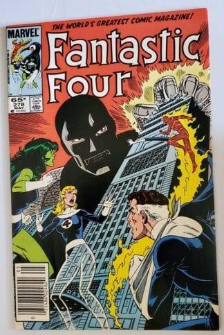 "Fantastic Four Issue #278 Marvel Comic Book ""True Lies"""
