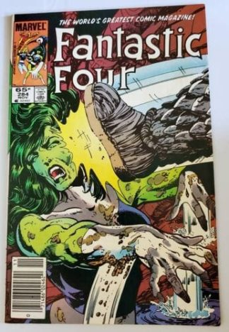Fantastic Four Marvel Comic Issue #284 November 1985