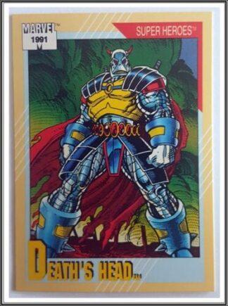 "Death's Head Marvel 1991 ""Super Heroes"" Comic Trading Card #33"