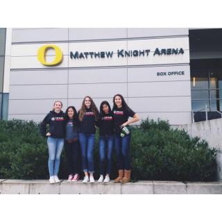 The crew at University of Oregon