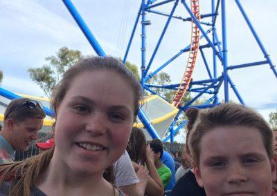 Megan at Six Flags