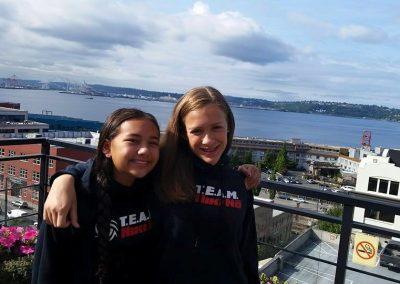 Maya and Samantha in Seattle