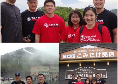 Yamamoto Ohana at Mt. Fuji