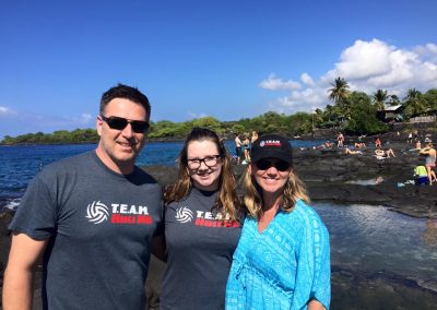Evie and Family on the Big Island