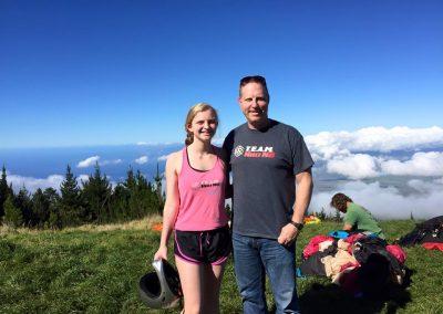 Katie and Scott on Maui