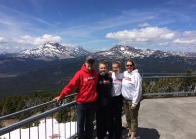 Blankinships at Mt. Bachelor