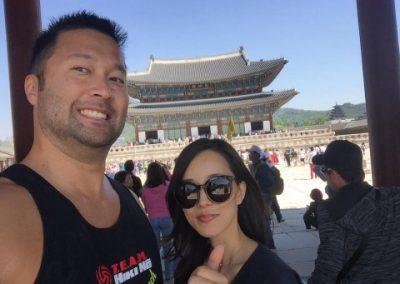Coach Kyle in South Korea