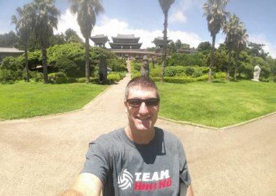 Coach Dan in South Korea