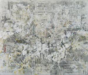 sKolman & Pryor Gallery_Patrick K. Pryor_Omphalos_2015_Acrylic Painting on Canvas