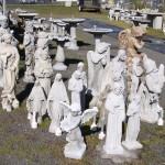 Concrete Christian Statuary and Garden Art in Portland, Oregon