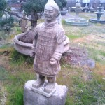Concrete Asian Statues and Garden Art in Portland, Oregon