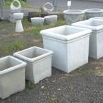 Concrete Pottery and Planters in Portland, Oregon
