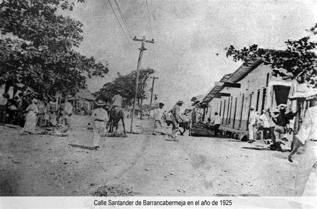 Calle Santander 1925