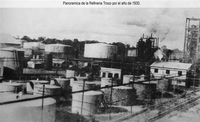 refineria de la Trocco 1930
