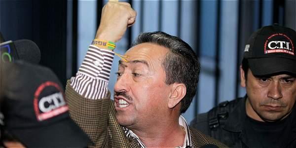 Fiscalía captura al exgobernador de Santander Hugo Heliodoro Aguilar