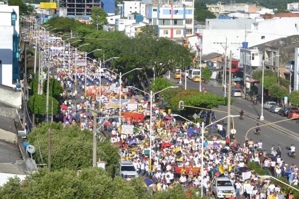 Las mejores fotos de la multitudinaria marcha por el PMRB