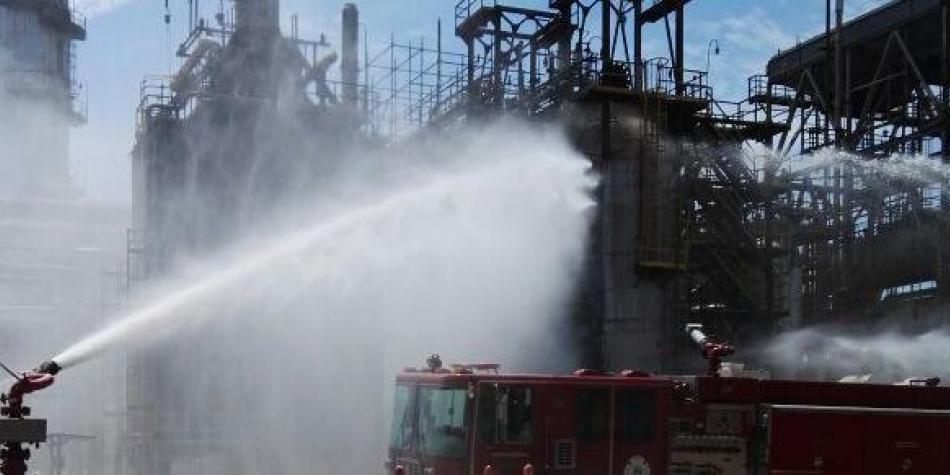 En duda la 'confiabilidad operativa' de la refinería tras 2 incendios consecutivos