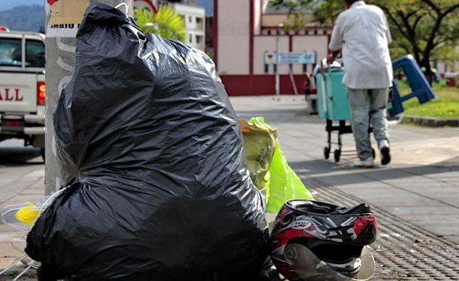 El mal uso de los residuos sólidos lo sanciona el Código de Policía