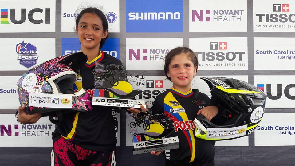 Sara García y Ainara Serrano 'orgullo barranqueño' en Mundial BMX de Rock Hill