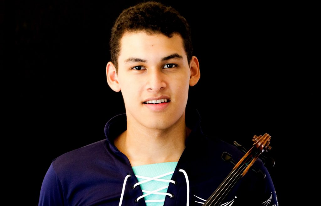Pablo Luis López Jiménez, violinista, orgullo barranqueño