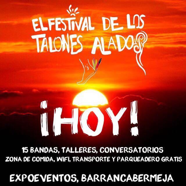 Afiche Festival de los Talones Alados