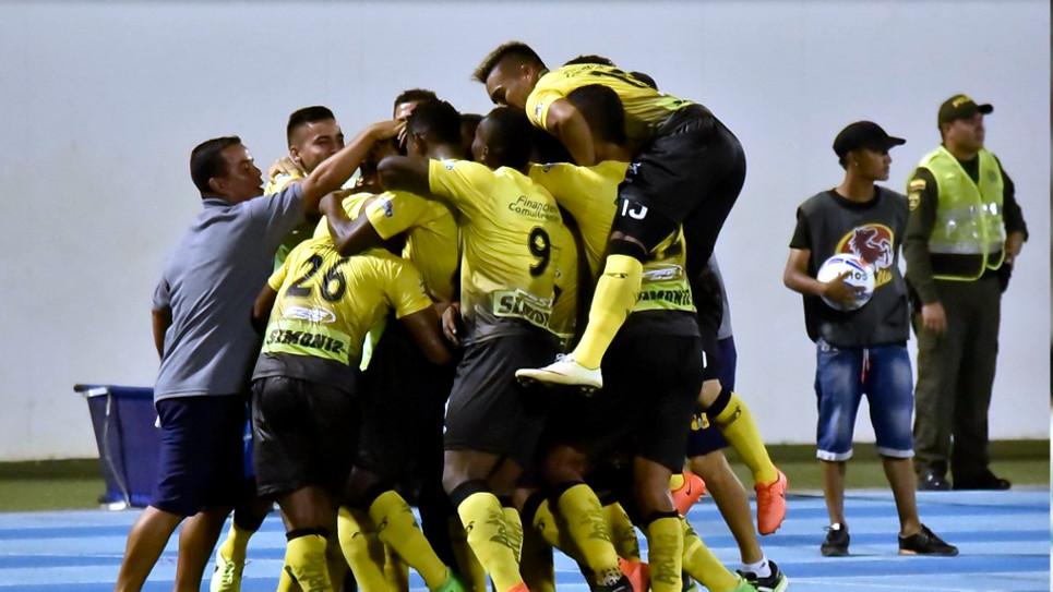 Alianza Petrolera venció 4 a 2 al Deportivo Pasto