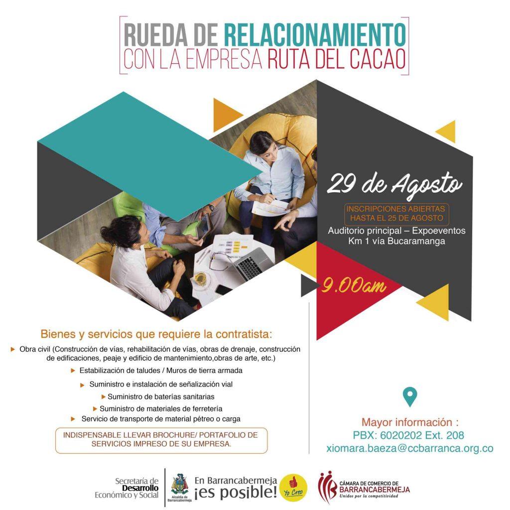 """""""Rueda de Relacionamiento con la empresa Ruta del Cacao"""""""