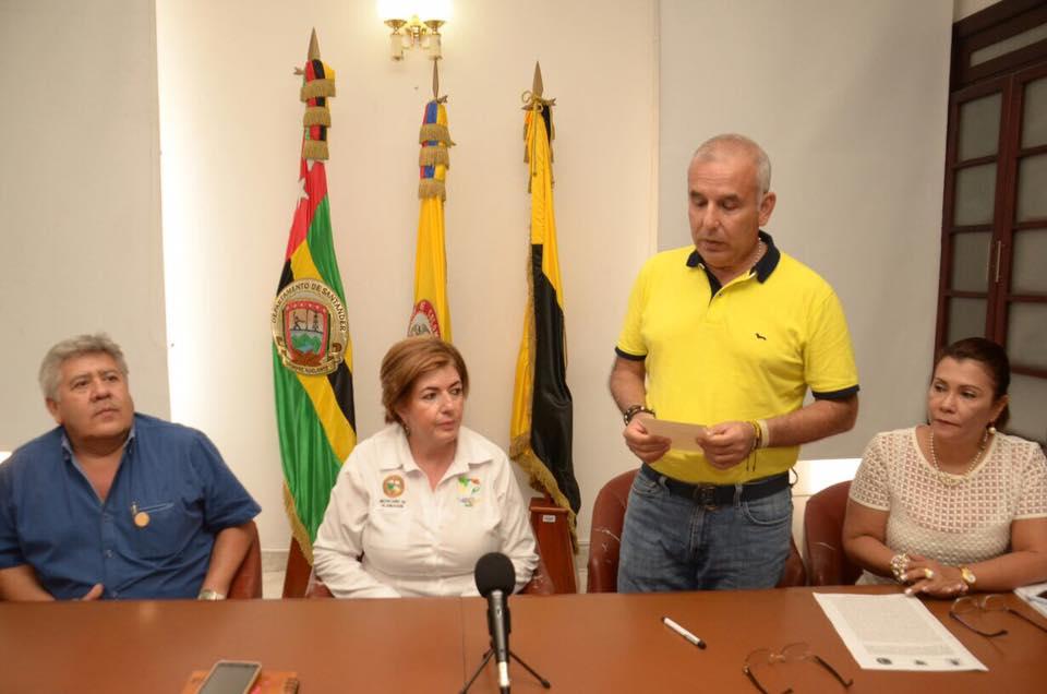 Se firmó convenio de asociación entre municipios que limitan con B/bermeja