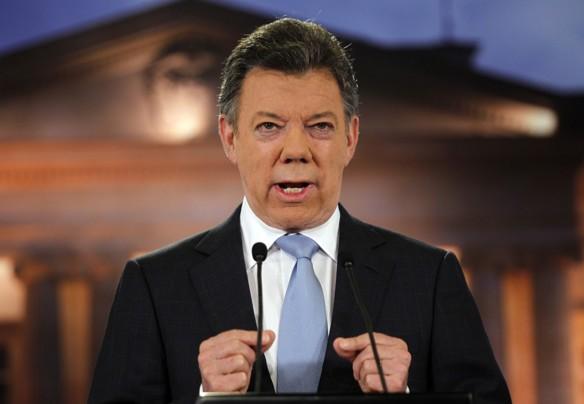Santos anuncia cese al fuego bilateral con el ELN