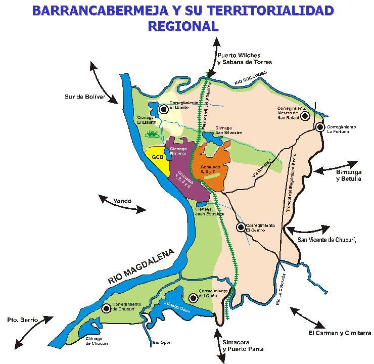 Nuevo POT para Barrancabermeja será presentado en octubre de 2018