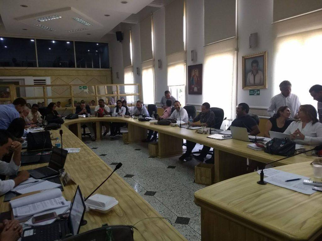 Concejales de B/bermeja eligieron mesa directiva para el 2019